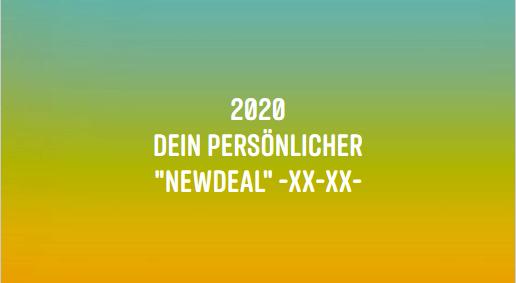 """Dein persönlicher """"NewDeal"""""""